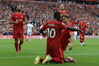 Liverpool a battu Burnley sur le score de 2-0. AFP