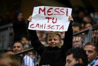 Cartons d'audiences en Espagne pour la première de Messi avec Paris. AFP
