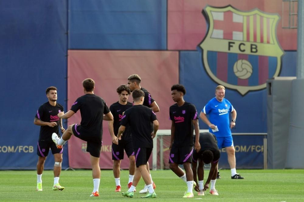 Barça-Bayern, mêmes espoirs sans les gros sous. AFP