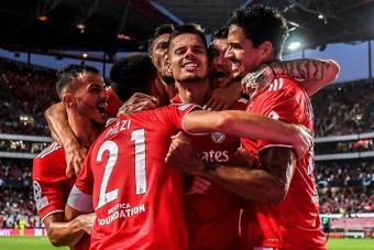 Le Benfica et le Shakhtar en ballotage favorable avant le barrage retour. AFP