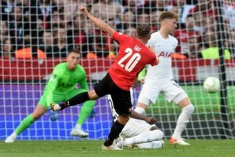 Rennes décroche le nul 2-2 face à Tottenham. AFP