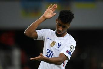 Coman pas assez rétabli pour aller en équipe de France. AFP