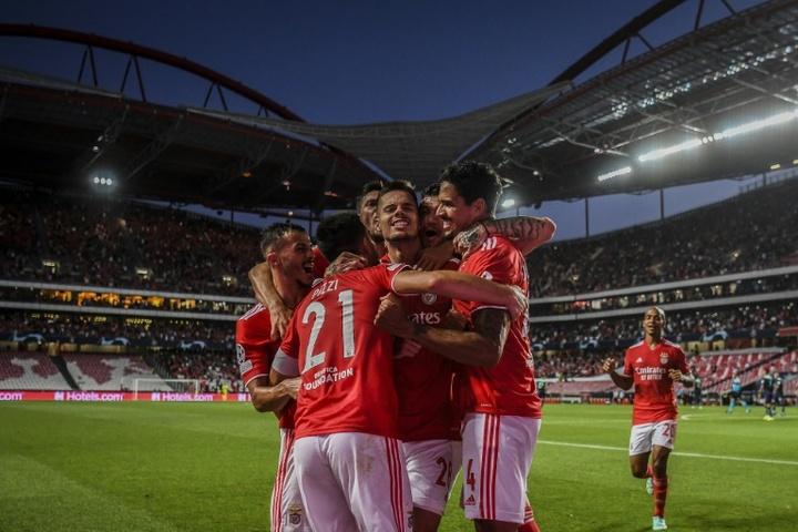 Courte victoire de Benfica contre le PSV Eindhoven. AFP