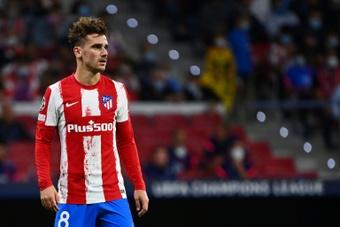 Griezmann ne convainc pas et l'Atlético patine contre Porto. AFP