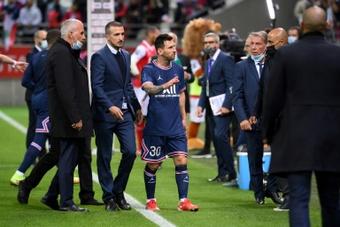 Messi, star de Paris déjà couronnée à Reims. afp