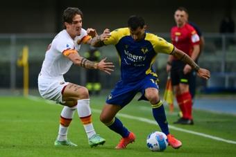 La Roma de Mourinho chute pour la première fois de la saison. AFP