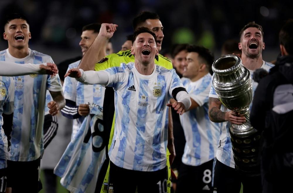 Qualifs Mondial-2022: l'Argentine bat la Bolivie avec un triplé de Messi. AFP