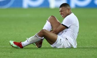 Mbappé incertain contre Lyon, décision dimanche. AFP