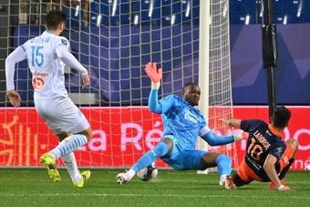Match nul de haut vol entre Montpellier et Marseille. AFP