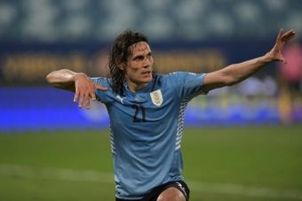 l'Uruguay et le Paraguay qualifiés pour les quarts de finale. AFP