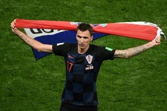 La Croatie salue le départ en retraite de Mandzukic. AFP