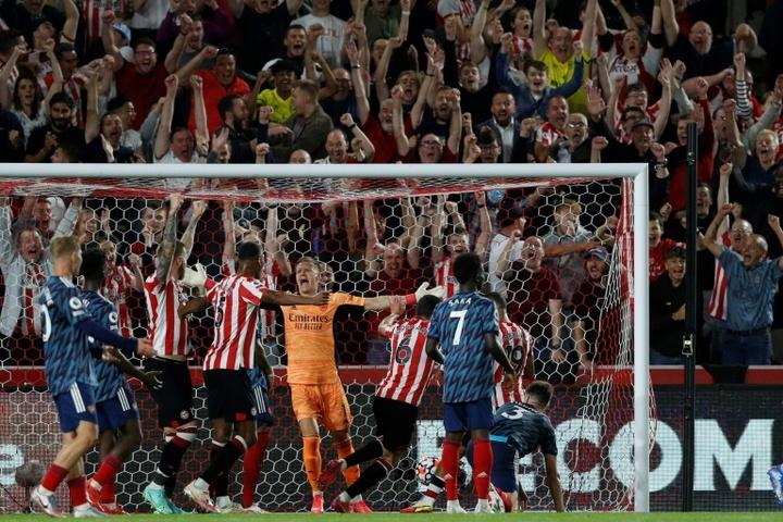 Arsenal tombe d'entrée chez le promu Brentford. AFP
