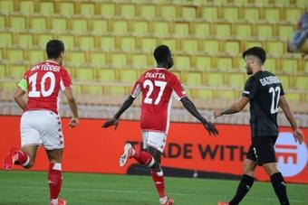 Monaco s'impose sans convaincre contre Sturm Graz. AFP