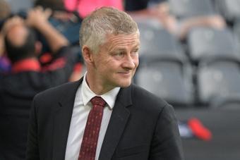 Solskjaer à nouveau face à son plafond de verre avec Manchester United. AFP