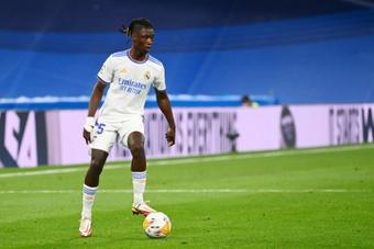 Camavinga a réussi ses débuts. AFP