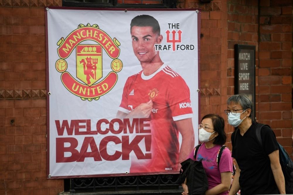 Ronaldo attendu à Old Trafford, Griezmann et le Real reviennent au bercail. afp