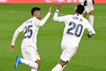 Vinicius-Rodrygo, nouveau statut pour les deux joyaux brésiliens du Real. AFP