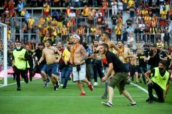 Le RC Lens déconseille à ses supporters le déplacement à Marseille. AFP