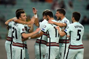 Sans Ronaldo, le Portugal corrige l'Azerbaïdjan. AFP