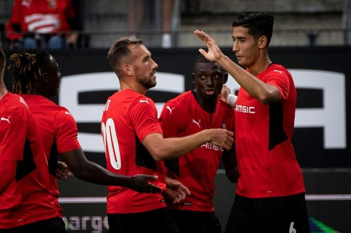 Rennes se défait de Rosenborg et découvrira la Ligue Europa Conférence. AFP
