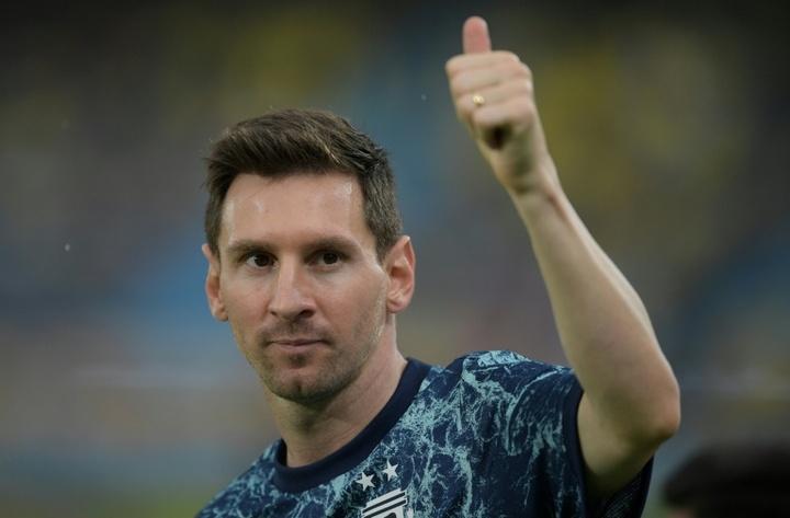 Messi pourrait bien finir sa carrière à l'Inter Miami. AFP