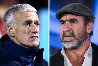 La plainte en diffamation de Deschamps contre Cantona invalidée en appel. AFP