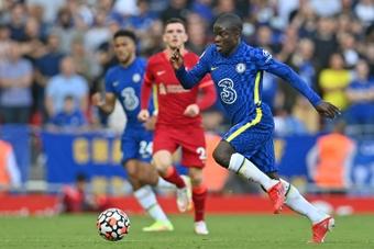 Kanté remplacé durant Liverpool-Chelsea. AFP
