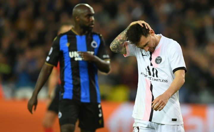 Messi, des débuts raturés avec le PSG. AFP