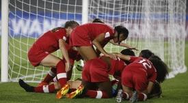 Canadá acabó con Colombia. EFE
