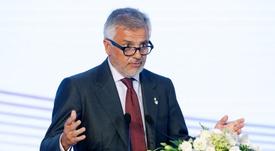 El vicepresidente del Comité Olímpico Internacional (COI), el español Juan Antonio Samaranch. EFE/Archivo
