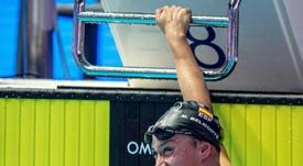 La nadadora española Mireia Belmonte pasó hoy a las semifinales de 200 metros mariposa en el mundial de natación de Gwangju (Corea del Sur) al quedar en el puesto 16 de la ronda preliminar disputada hoy. EFE/PATRICK B. KRAEMER