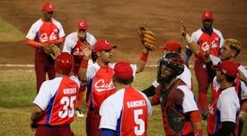 Con tres victorias sin derrotas, Cuba mantuvo su invicto y Venezuela quedó con una victoria y dos derrotas, en el torneo, previsto para finalizar el próximo domingo. EFE/Gustavo Amador/Archivo