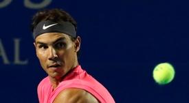El tenista español Rafa Nadal. EFE/David Guzmán/Archivo