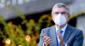 El presidente del COI, el alemán Thomas Bach. EFE/EPA/LAURENT GILLIERON/Archivo