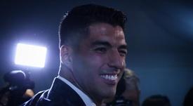 Luis Suárez ya es jugador del Atlético de Madrid. EFE