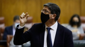El vicepresidente del Gobierno andaluz, Juan Marín. EFE/José Manuel Vidal/Archivo