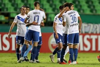 Así se presentan la ida de los cuartos de la Copa Sudamericana. EFE/Fernando Vergara