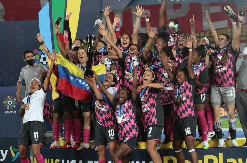 Santa Fe, campeón femenino de Colombia. EFE