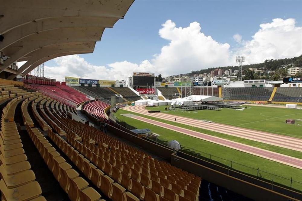 El Ayacucho-Gremio será en Quito. EFE