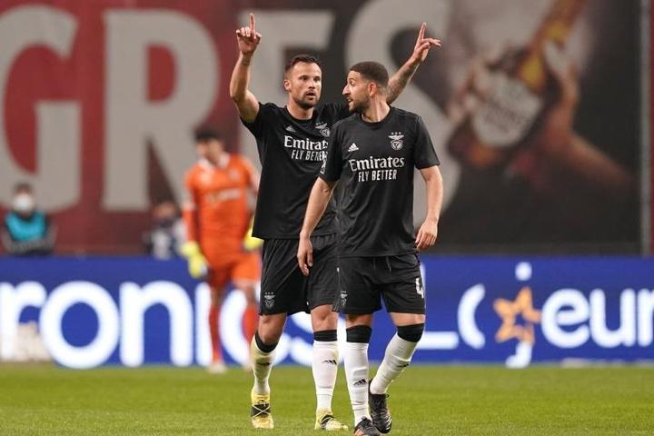 Seferovic saca al Braga de la Champions y mete al Benfica. EFE