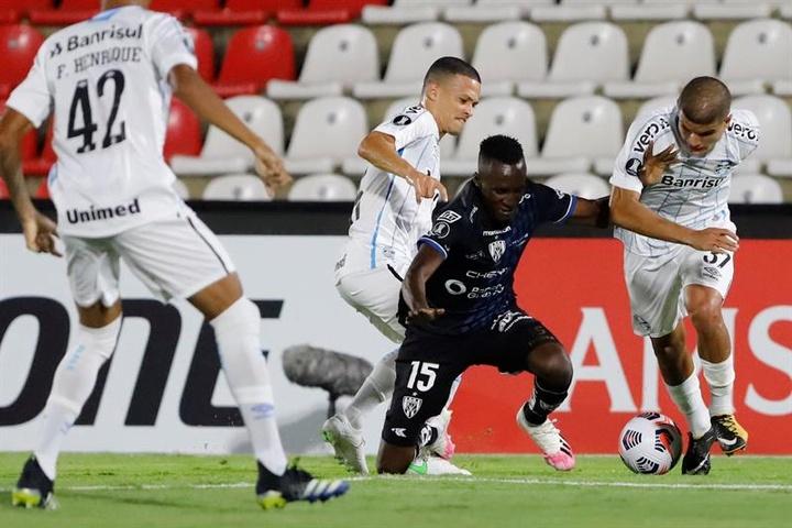 Santos venció 1-3 a San Lorenzo en la ida. EFE