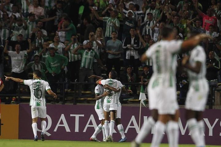 Atlético Nacional se la juega a todo o nada en la vuelta en casa. EFE/Archivo