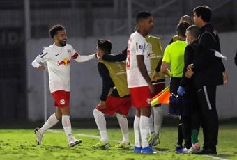 Bragantino ganó 2-1 frente a Deportes Tolima en la Copa Sudamericana. EFE
