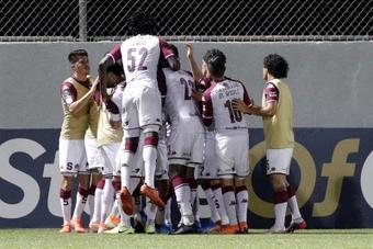 Saprissa logró un importante triunfo ante Santos. EFE
