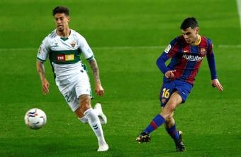 Rigoni no triunfó en el fútbol español. EFE