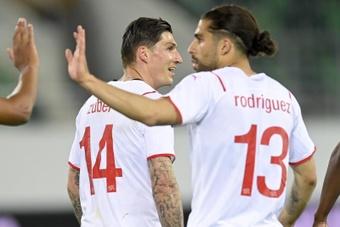 Suiza remonta a Estados Unidos con la mirada puesta en la Eurocopa. EFE