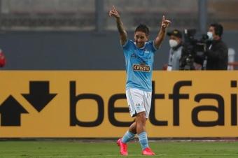Sporting Cristal, campeón de la primera fase de la Liga Peruana. EFE