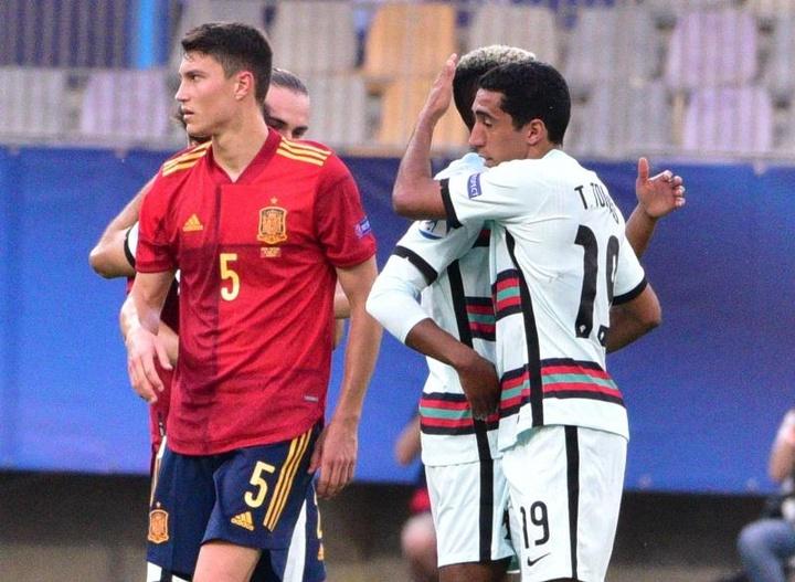 España cayó ante Portugal, pero su buen juego fue la seña de identidad. EFE