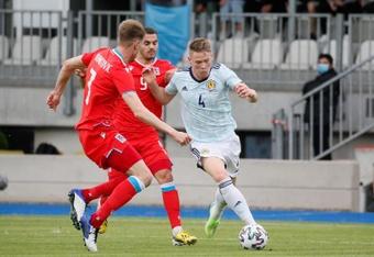 Escocia venció a Luxemburgo. EFE