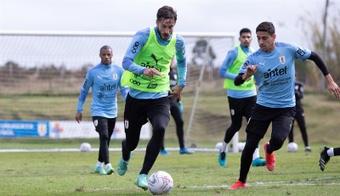 Uruguay cosechó dos empates consecutivos en las eliminatorias. EFE